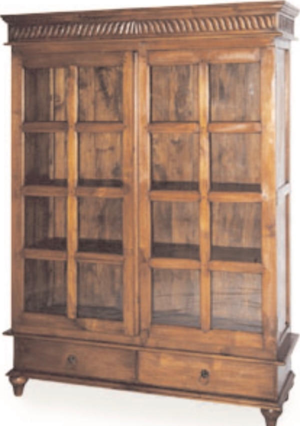 Glass Front Bookcase - Arhaus Furniture