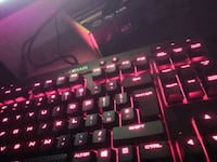 black and red gaming keyboard West Midlands, DY9 0RE