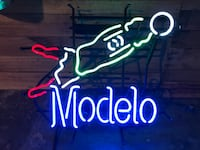 Modelo Neon Beer Sign- World Cup Melrose, 02176