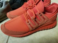 Adidas Men Tubular Red Size Sz 11.5 Sneakers Shoes