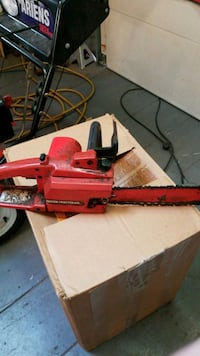 14 inch craftsman electric chain saw  Saugus