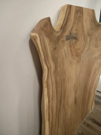 """Live Edge Wood Slab - Dining Table Top - 4"""" thick Vaughan"""