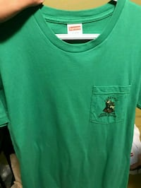 Supreme Pocket Tee - Green  Guelph, N1L 0K7