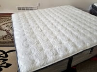 Thick Serta Perfect Sleeper Firm New King bed Surrey