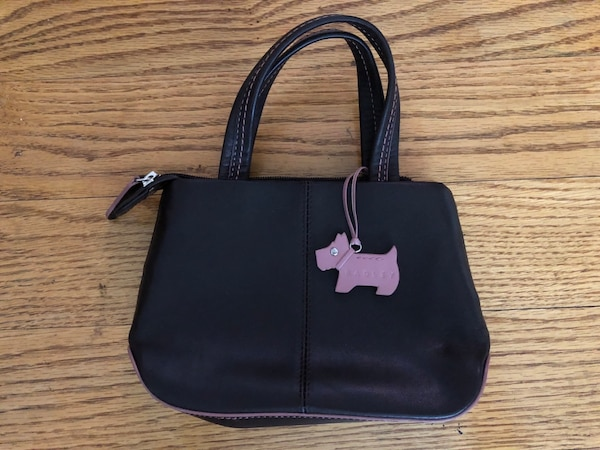 97d4e7124a17 Used Black and pink leather tote Radley small clutch for sale in Toronto -  letgo
