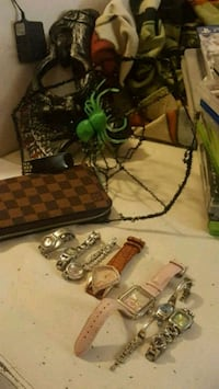 Watches LV wallet and fit bit