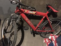 Red and black hardtail bike Edmonton, T5A 2S8