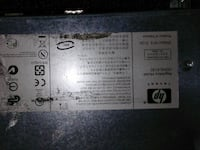 HP product label