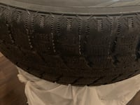 4 winter tires in a good condition  Ottawa
