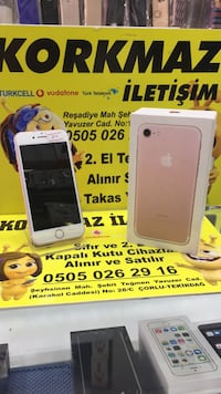 iPhone 7 Rose gold temiz 32gb Çorlu, 59850