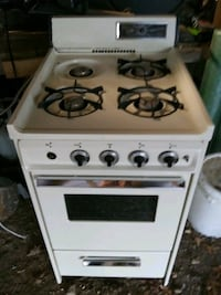 Propane Gas camper stove and oven