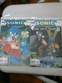 SONIC THE HEDGEHOG COMICS New York