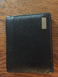 black leather bi-fold wallet Beltsville, 20705