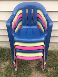 New! Six Kids Chairs (Ages 1-5 yrs) Edmonton, T6X 1E4