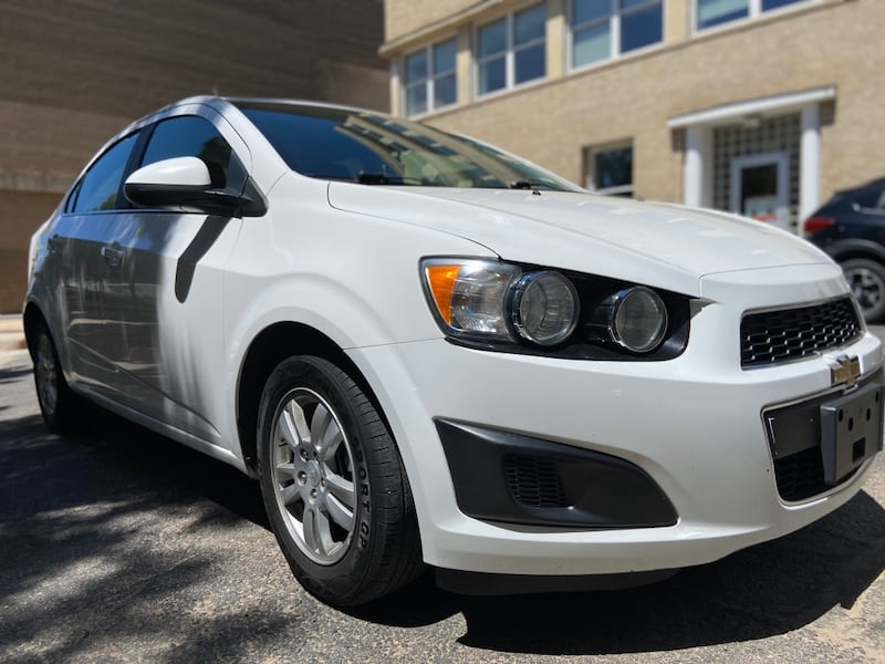 2014 Chevrolet Sonic Sedan LT Automatic 4