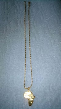 10kt..gold, chain.. and pendent Toronto, M2N 5M9
