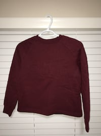 Red crew-neck sweatshirt Maple Ridge, V2X 0C9