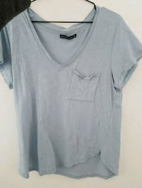 graues V-Neck-Shirt Altötting, 84503