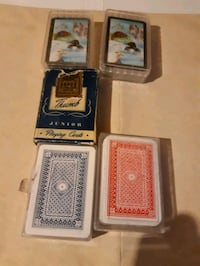 miniature playing cards Montreal