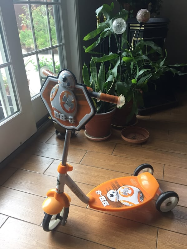 Star war scooter for age 3+ e35673fc-b494-4bf2-9987-e46afcc6a0a0
