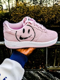 New Nike Air Force 1 Low Have A Nike Day Nice Size 9 Pink/White BQ9044 Clinton, 20735