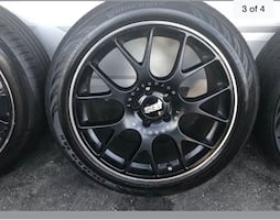 BBS CH-R 19 inch rims and tires