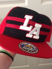 Red and black new LA cap Owings Mills, 21117