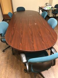 Conference table and chairs Monson, 01057