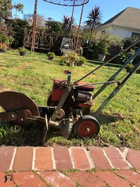red and gray lawn edger Burlingame, 94010