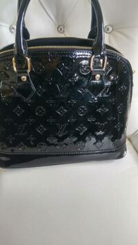 black leather Louis Vuitton tote bag Mississauga, L5W 1P4