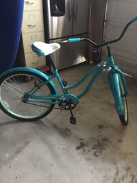 Womans bicycle