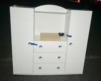 Free white child's cabinet curb alert  Derwood, 20855