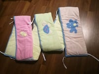 Crib Bumpers and baby blanket Calgary, T3K 4M2