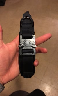 Tactical heavy duty dog collar -Large-