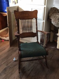 Antique Rocking Chair Rogers, 72758