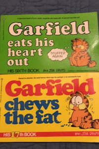 Garfield Eats His Heart Out & Garfield Chews the Fat-New Columbia, 21045