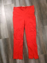 Forever 21 Red High Waist Skinny Pants Size L