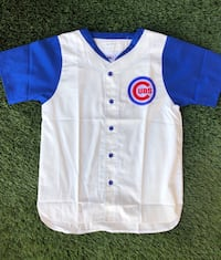 90's Deadstock New Vintage Chicago Cubs MLB Baseball Jersey Apex One Large San Diego, 92116