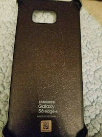 black and brown Samsung Galaxy S7 case