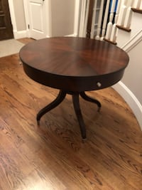 Ethan Allen Wilshire Solid Wood Circle Table - currently selling for $1,400 on Ethan Allen. Only 4 years old   North Reading, 01864