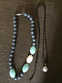 Chewbeads teething necklace (never worn/used) and Bola pregnancy necklace Perth East, N0K
