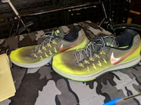 pair of green Nike running shoes Winnipeg, R2M 3L7