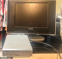 Great for kids room LCD screen with DVD PLAYER Toronto, M6R 1B4