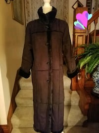 Faux Fur Faux Leather Black New Never Worn Coat Size Small Omaha, 68105