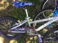 white and purple BMX bike Keller, 76248