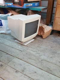 white CRT computer monitor Winnipeg
