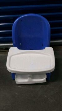 baby's blue and white high chair Ashburn, 20148