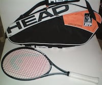 Head ATP World Tour Tennis Bag and Conquest Nano Racquet London