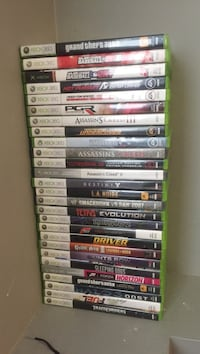 Xbox 360 with Kinect 45 games and 2 controllers Sylvan Lake, T4S