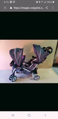 Baby trend sit and go double stroller